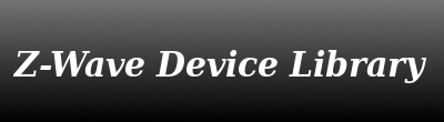 Z-Wave Device Library